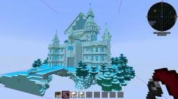 Minecraft Mega Build Hyperdimension Lowee Castle Minecraft Map & Project