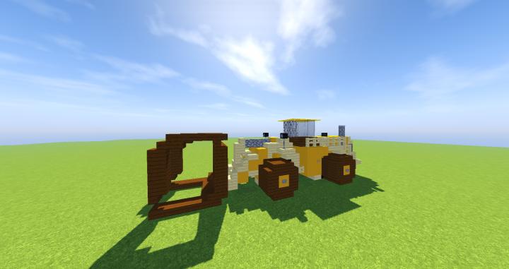 Popular Server Project : Caterpillar 988K Log Loader