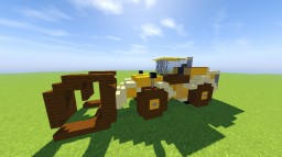 Caterpillar 980K Log Loader Minecraft Map & Project
