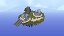 floating fort on island Minecraft Map & Project