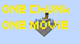 one chunk one movie - a8 Minecraft Map & Project
