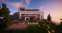 ''Just Modern Villa #1 Schematic'' Minecraft Map & Project