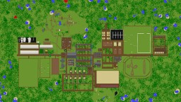 Spruce Gaard- Stable, Ranch, Horse Centre, School, Farm, Horses, Riding Minecraft Map & Project