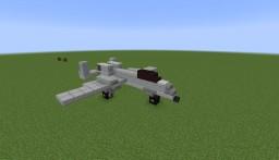 Fairchild Republic A-10 Thunderbolt II | 1:1 Scale Replica Minecraft