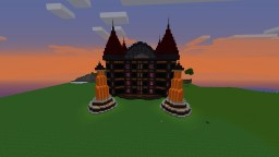 Nether Mansion Minecraft Map & Project