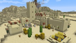 1.14 Desert Village Recreation Minecraft