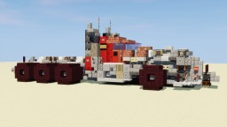 Hot Rod Truck Minecraft Map & Project
