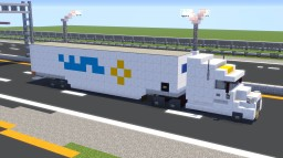 Walmart Semi-trailer Truck Minecraft Map & Project