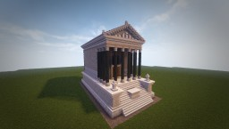Temple of Antoninus and Faustina Reconstruction (Conquest Reforged) Minecraft Map & Project