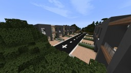 Japanese High School + Town (and possibly a city) Minecraft Map & Project