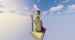 Greek Warrior Statue (EN/FR) Minecraft Map & Project
