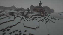 The Snowy Challenge Minecraft Map & Project