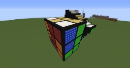 Rubik's Cube Schematic Minecraft Map & Project