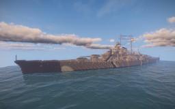 Battleship Bismarck (1939) Minecraft