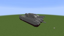 Landkreuzer P. 1000 Ratte | 1:1 Scale Replica | Exterior Only Minecraft Map & Project