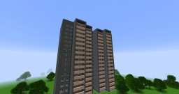 A typical residential house series 522а/Типовой жилой дом серии И-522а Minecraft Map & Project