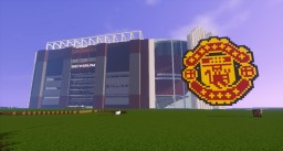 Old Trafford in Minecraft Minecraft Map & Project