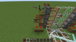 2x5 piston door Minecraft Map & Project