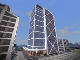 Austinia Financial Tower Minecraft Map & Project