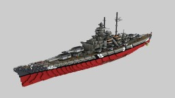 Battleship Bismarck [1:1] Minecraft