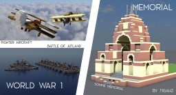 Lest We Forget | World War One Memorial Minecraft