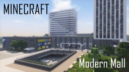 Modern Mall (full interior) Minecraft Map & Project