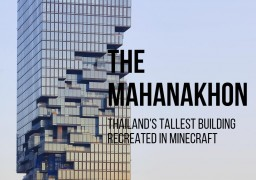 1:1 MahaNakhon Tower - Bangkok, Thailand Minecraft Map & Project