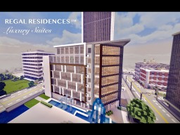 Regal Residences™️ Apartment Building (full interior) Minecraft Map & Project