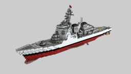 JMSDF Kongō DDG-173 [1:1] Minecraft Map & Project
