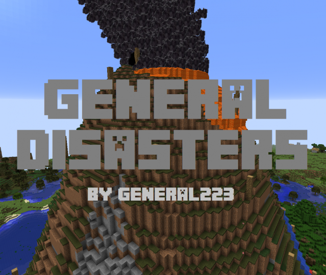 General Disasters (1 0) [1 12 2] Minecraft Mod