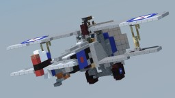 Nieuport 17 'Billy Bishop' (4:1 Scale) Minecraft