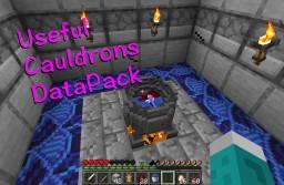Useful Cauldrons Minecraft Data Pack