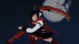 Ruby Rose - RWBY Minecraft Map & Project