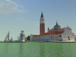 Island of San Giorgio Maggiore  ( Venice, Italy ) Minecraft