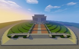[Updated] The Lincoln Memorial, Washington DC Minecraft Map & Project