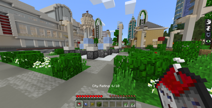 And spawn a pre-built building or amenity that will either help or hinder your city