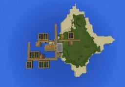 Small Village Island Minecraft Map & Project