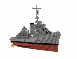 USS Somers(1:1 scale) Minecraft Map & Project