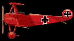 The Red Baron's Fokker Dr.1 475-17 Minecraft Map & Project