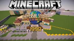 Minecraft - Universal Studios Florida - [1990] Minecraft Map & Project