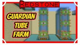 Simple Guardian Tube Farm [Minecraft Bedrock Edition] Minecraft Map & Project