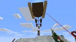 Santas Sleigh ! With Rudolph Minecraft Map & Project