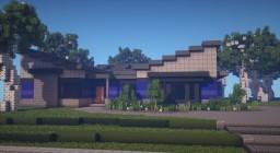 Concept Modern Home Minecraft