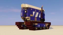 Dieselpunk Snow Vehicle Minecraft Map & Project