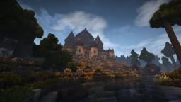Elven Fortress/Rampart from Heroes III [Conquest Reforged] Minecraft
