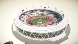 London 2012 Olympic Stadium Minecraft