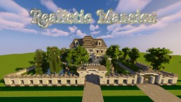 Royal & very realistic & expensive Mansion Minecraft Map & Project