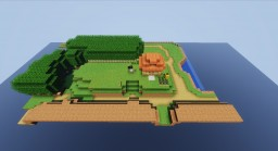 The Legend of Zelda: A Link Between Worlds remake Minecraft Map & Project