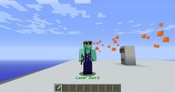 Minecraft Vanilla Laser Sword Minecraft Map & Project