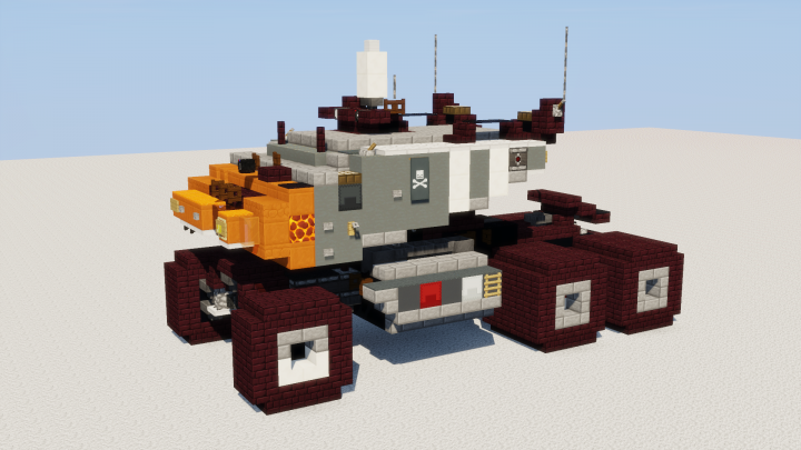 Popular Project : Futuristic Prime Mover